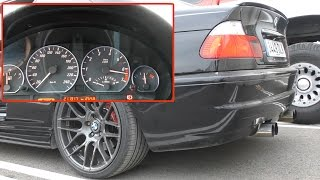 BMW SOUND -  Engine & Exhaust Notes (e46+SuperSprint)