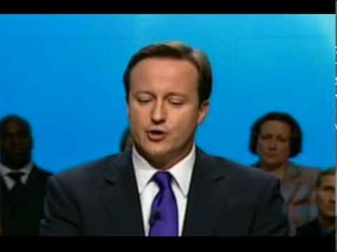 Naughty David Cameron!