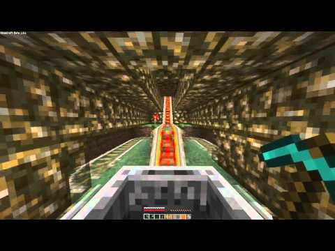 Longest Minecraft roller coaster ever (11 minutes)