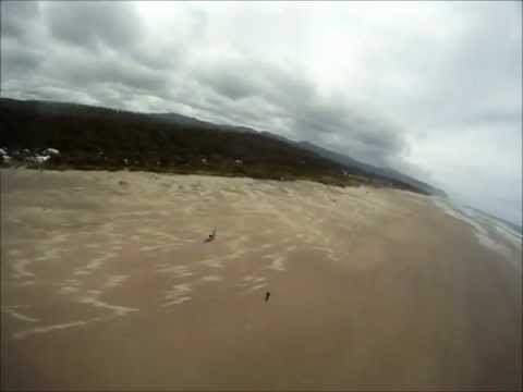GoPro on a Kite.. Beachside State Park, Oregon
