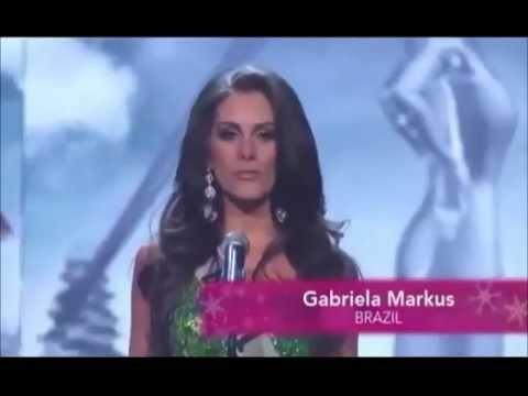 Miss Universe 2012 TOP 16 prediction