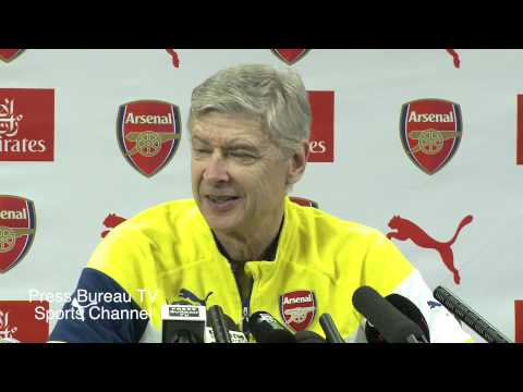 Arsene Wenger pre Crystal Palace vs Arsenal