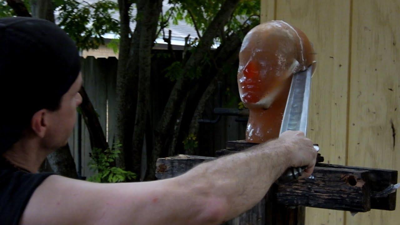 Ballistic Head Ballistic Gel Head Test