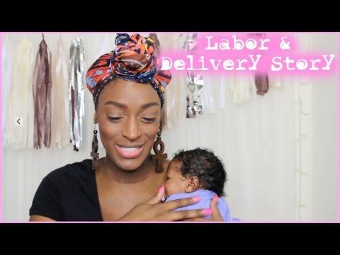 Storytime   Labor & Delivery + Meet Nia-Elizabeth) l TotalDivaRea