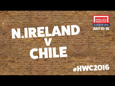 Northern Ireland v Chile l Second Stage Group B #HWC2016