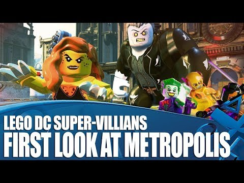 Lego DC Super-Villains - First Look At Metropolis And Huge Character Line-up!