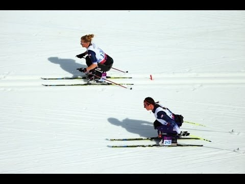 Cross-country skiing highlights from the Sochi 2014 Paralympic Winter Games