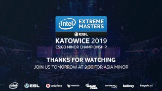 LIVE: INTZ vs Bravado- IEM Katowice Amercias Minor 2019 - Day 2