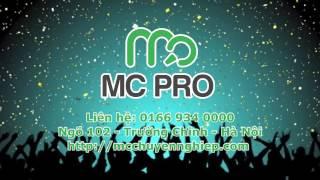 [MC PRO] Kỹ năng dẫn MC sự kiện - MC Văn Minh