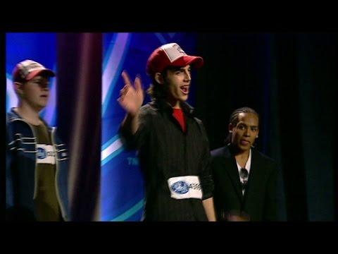 Se Darin Sjunga I Gruppmomentet Av Idol 2004 - Idol Sverige (tv4) video
