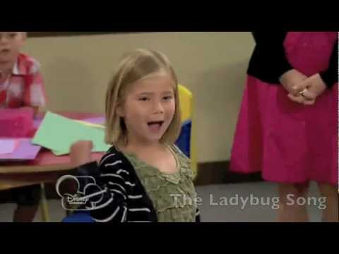Austin & Ally - The Butterfly Song vs The Ladybug Song
