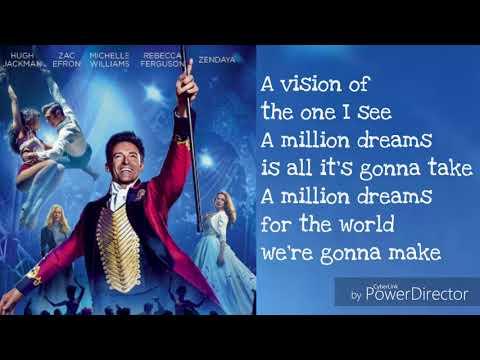 A Million Dreams Lyrics