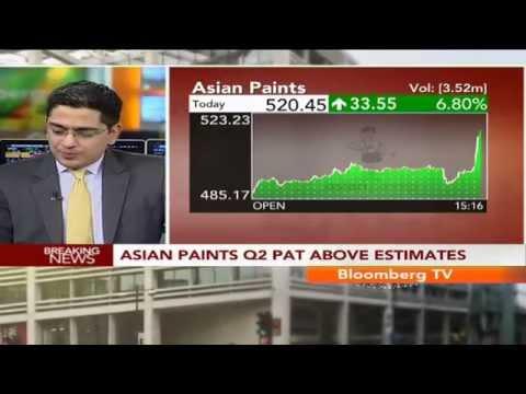 Earnings Edge- Asian Paints Q2 PAT Above Estimates