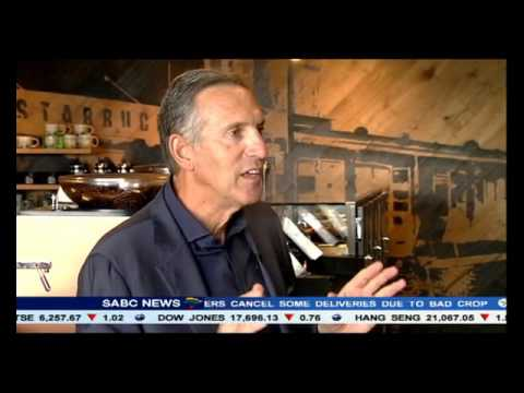 The arrival of Starbucks in South Africa: Howard Schultz