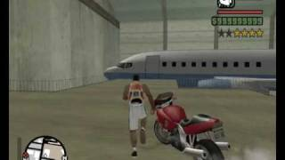 GTA San Andreas - Access Las Venturas Airport without a Pilots Lisence