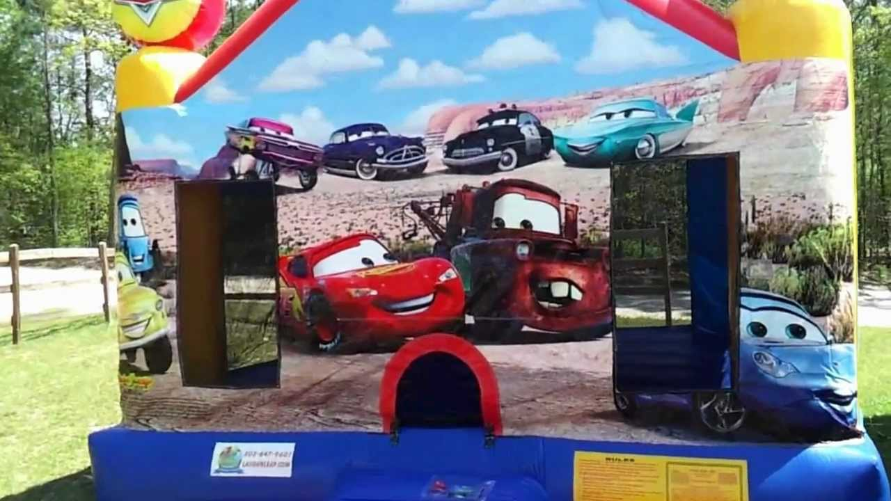 Cars Bounce Houses Cars Bounce House Kids Theme
