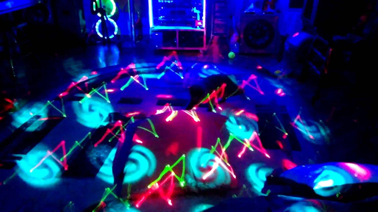 Цветомузыка для домашней дискотеки своими руками