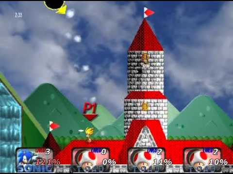 Super Smash Bros. Crusade Classic run through (Intense): Sonic
