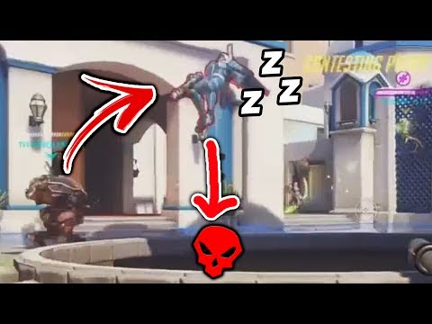 One In A MILLION Ana Snipe - Overwatch Funny Moments #49