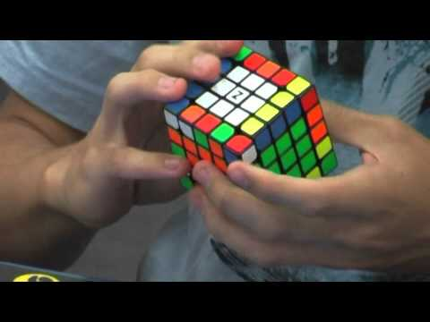 5x5 Rubik's cube former world record average: 57.94