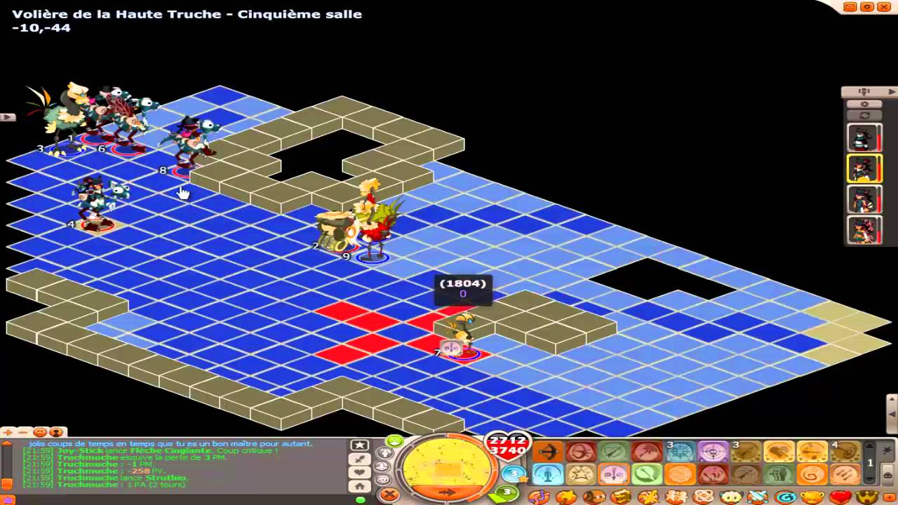 Dofus donjon haute truche full succay comment e youtube for Haute truche