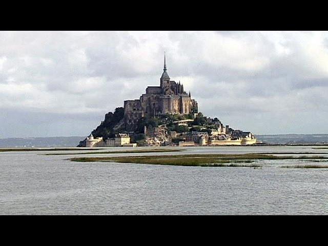 Fransa'da Mont-Saint Michel zamanı