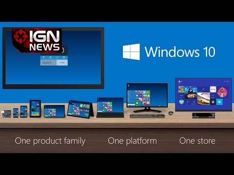 Windows 10 Free for 8.1, 7 Users - IGN News