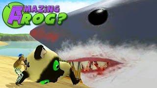 Download Lagu Amazing Frog - GIANT SHARK MEET GIANT KITTEN - Part 29 Gratis STAFABAND