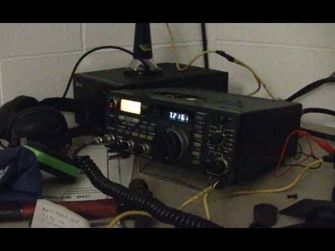 FUN WITH RADIO DURING HURRICANE SANDY
