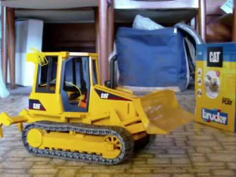 Rc Bruder Cat D5k Dozer Converted to Rc