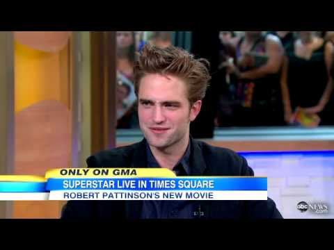 Robert Pattinson On Good Morning America