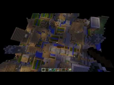 Minecraft:Worlds Biggest City Seed