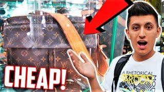 THRIFT SHOPPING LOUIS VUITTON IN! AKIHABARA SHOPPING! (ANIME and VIDEO GAMES)