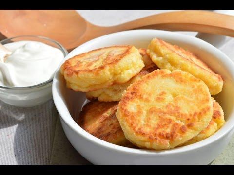 Как приготовить сырники - пошаговый рецепт - видео
