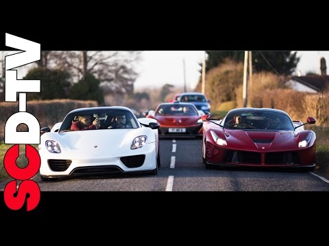 Collection Day -  LaFerrari + 918 Spyder + P1 | The Holy Trinity of Hypercars