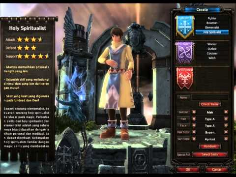 Mirror War Indonesia - Preview Character Creation | Gemscool