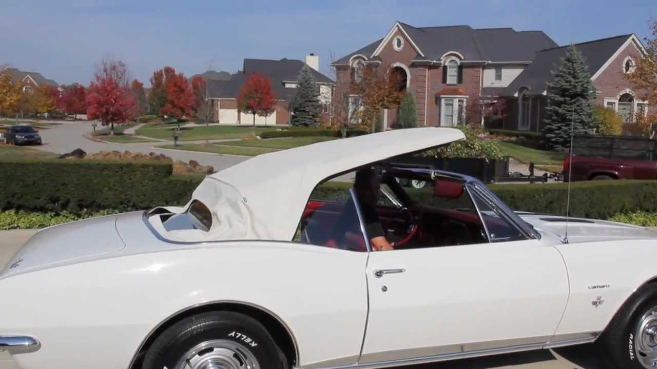 1967 Chevy Camaro Rs Ss Classic Muscle Car For Sale In Mi Vanguard Motor Sales Youtube