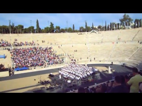 ATHENS, GREECE, Olympic flame at Panathenaic Stadium, OLYMPIC GAMES BRAZIL RIO 2016 - (1)(27.4.2016)