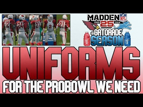 Madden 25 MUT   Ultimate Team Gameplay   Probowl Uniforms?