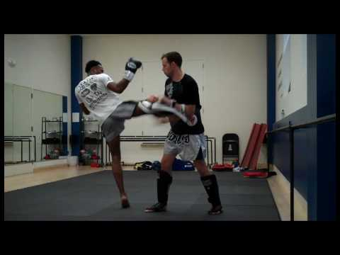 Jersey City Kickboxing Presents: Muay Thai Pad training Image 1