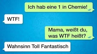 Die 50 lustigsten Textnachrichten zwischen Eltern und Kindern