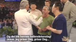 Benny Hinn visit Singapore and Jesus heals!