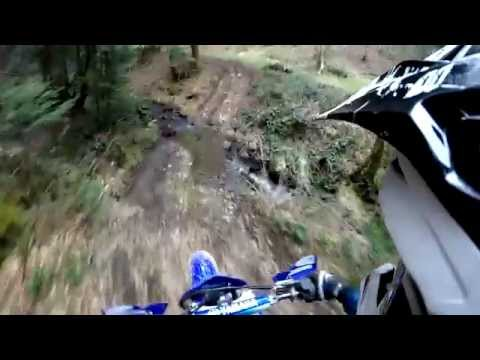 Yamaha 125 YZ riding onboard - Gopro Hero 3+ Silver