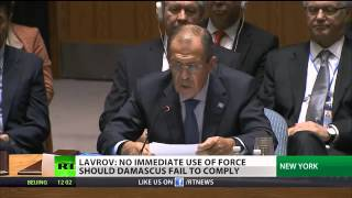 United Response: Security Council votes 15-0 for Syria chem weapons resolution 9/28/13