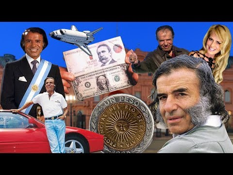 Carlos Menem en 8 min. con CHISTES