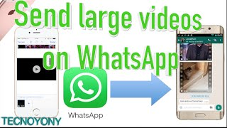 How to send large video file to WhatsApp