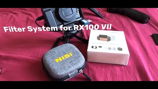 Nisi Filter System for Sony RX100 VI and VII | First Impressions