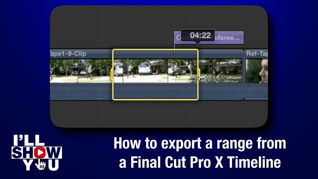 how to upload final cut pro videos to instagram