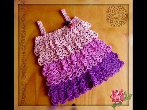 Ютуб видео уроки вязание крючком детского платья