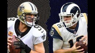 L.A. Rams vs  New Orleans Saints (NFC Championship Game) Pre-Game Show